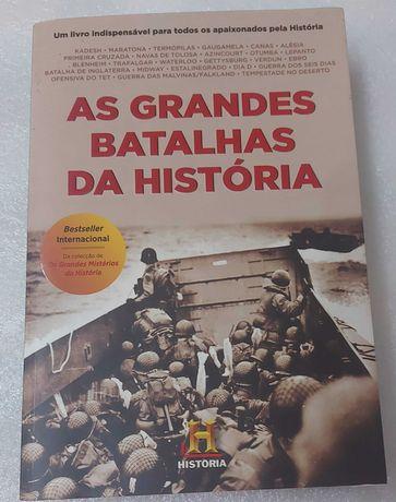 Livro - As grandes Batalhas da História