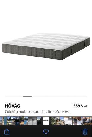 Colchão IKEA novo (2 utilizações)
