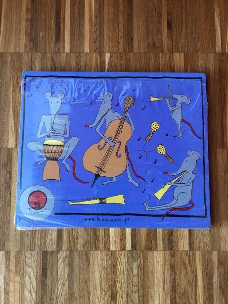 Układanka /puzzle dla dzieci, Orkiestra, Kalimba