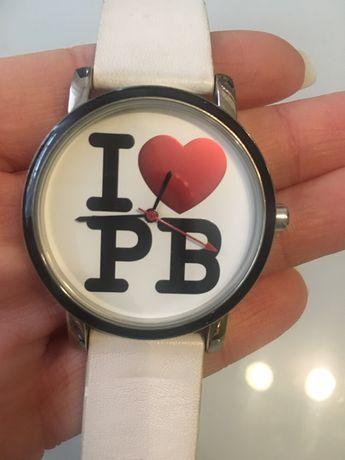 Paul's Butique zegarek biały damski na walentyki