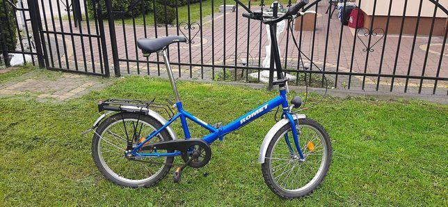 Rower miejski składany Romet