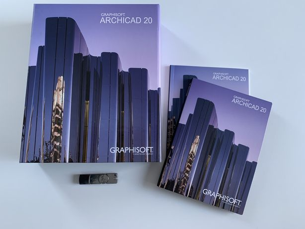 ArchiCad 20 PL Graphisoft do użytku komercyjnego