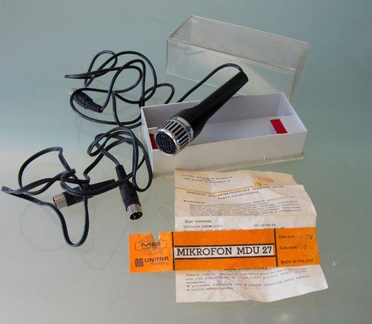 Mikrofon MDU 27 Unitra Tonsil