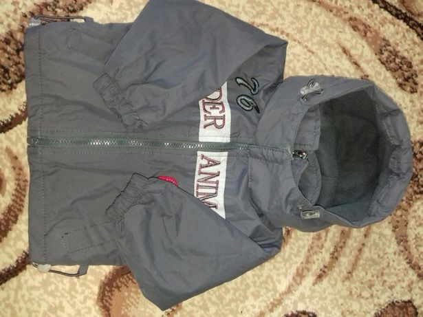 Курточка демісезонна для хлопчика