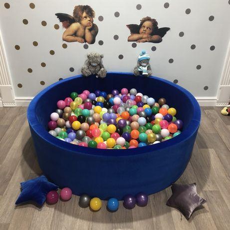 Сухой бассейн с шариками 200 шт от производителя, манеж