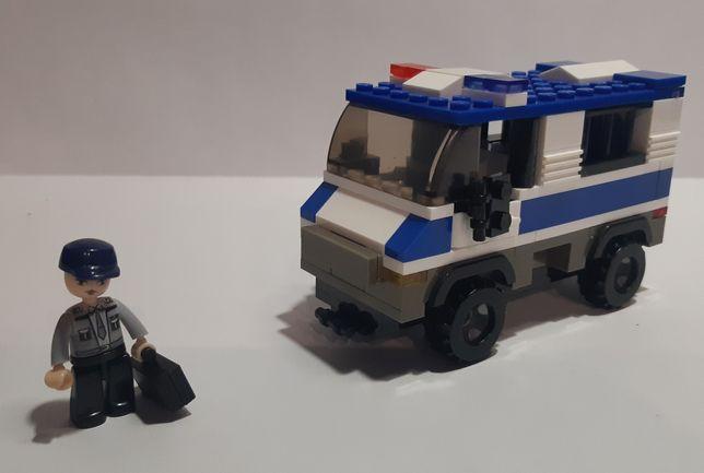 Конструктор полицейский и бензовоз