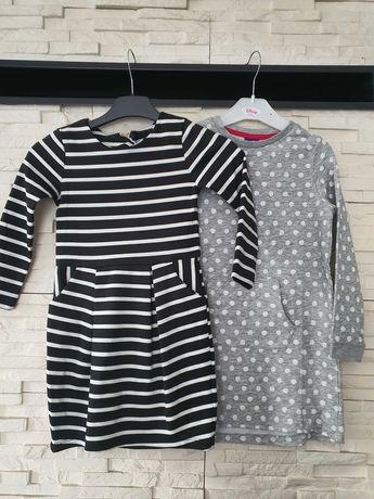 Zestaw sukienek z długim rękawem H&M rozm. 110-116