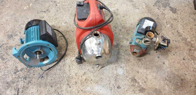 Silniki elektryczne, pompy