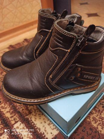 Демі шкіряні ботинки