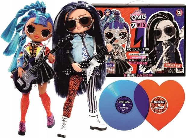 LOL OMG Remix Дуэт Rocker Boi and Punk Grrrl Куклы boy Surprise 567288