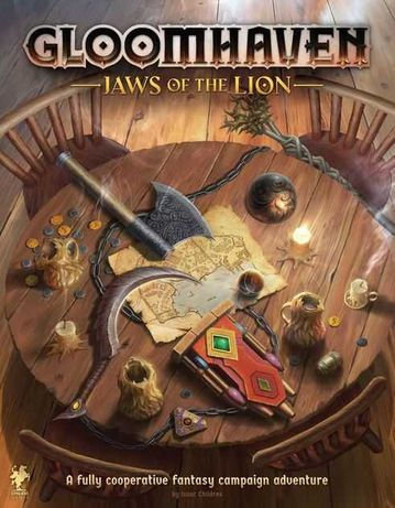 Vendo Gloomhaven Jaws of the Lion