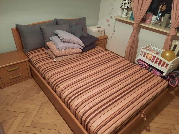 Łóżko sypialna + szafki nocne