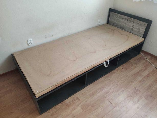 Tapczan łóżko jednoosobowe młodzieżowe bez materaca z pojemnikiem