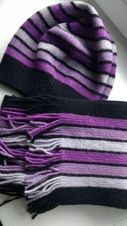 шапочка и шарфик комплект