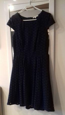 sukienka ciemnogranatowa mint&berry r.36