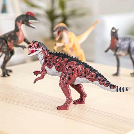 Интерактивный динозавр Battat, свет и звук