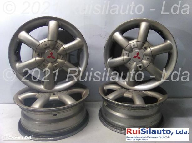Conjunto De Jantes Alumínio R14 55jx14fhet44 Mitsubishi Carisma