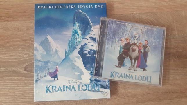 Film dvd i płyta cd