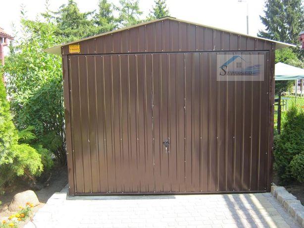 Garaż blaszany w kolorze 3x6, magazyn rolniczy, Cały Kraj z dowozem