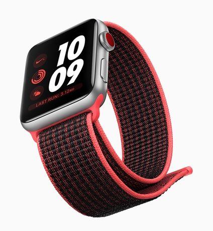 Нейлоновый ремешок для Apple Watch 44/42; ремешок на липучках