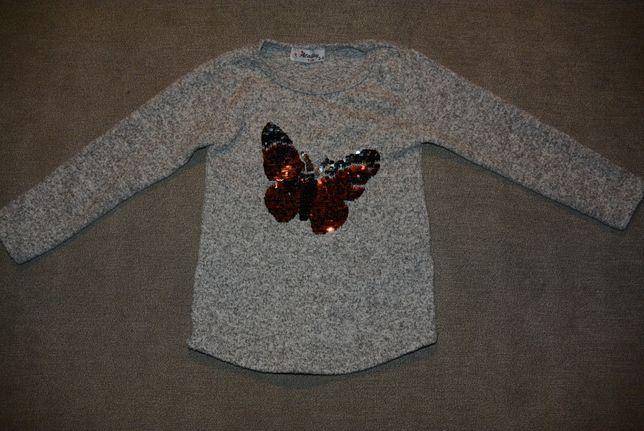 Sweterek, bluzka r. 98