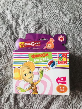 Магнитные пазлы Фиксики Vladi toys 3-6 лет