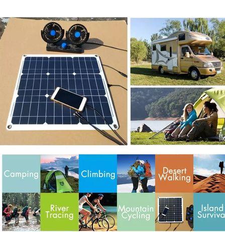 Solar Kit Manutenção Bateria Automóvel ,barco,moto