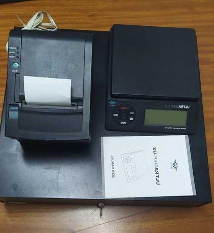 Conjunto Gaveta POS+ Balança Digital + Impressora POS