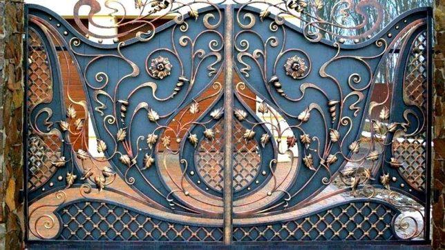Ковані вироби(ворота, декори)