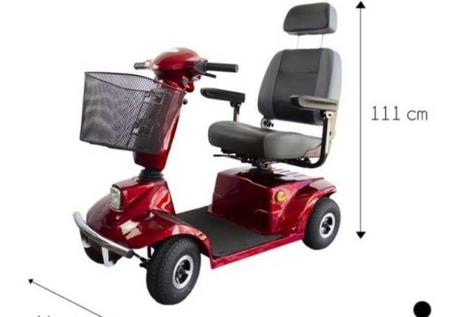 Cadeira electrica para melhor mobilidade! Usada apenas 6 meses!
