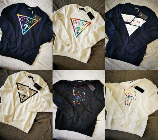 Guess Bluza Karl Damska Calvin Klein Guess S-XXL Premium