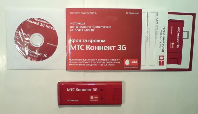 Модем usb 3G CDMA MTC