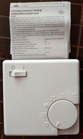 Termostat, regulator pokojowy Eberle RTR-E 3563, nowy (+ zawór belimo)