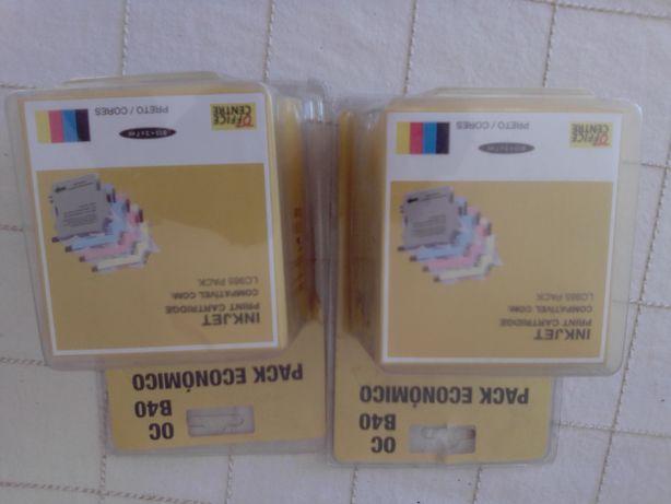 Tinteiros brother compativel com LC 985. 4€ cada