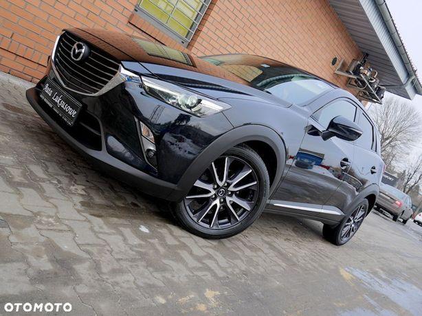 Mazda CX-3 2.0i SKY_PASSION Bezwypadkowy Full Opcja HEAD UP Czarna Perła TOP