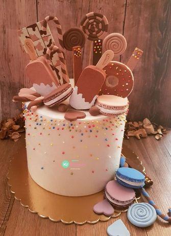 Tort do sesji zdjęciowej, sztuczny tort, atrapa tortu,