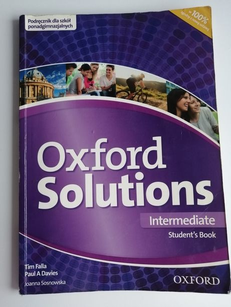 Oxford Solutnions Intermediate podręcznik