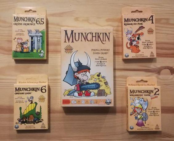 Munchkin gry karciane dodatki duży wybór