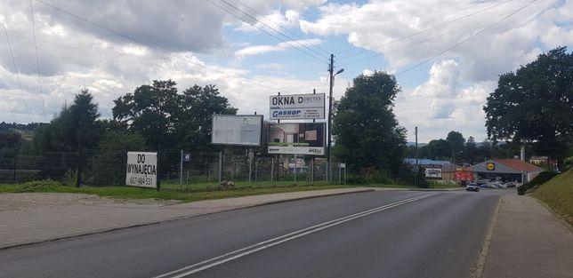 Plac do wynajęcia w centrum Strzyżowa