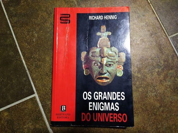 Livro os grandes enigmas do universo