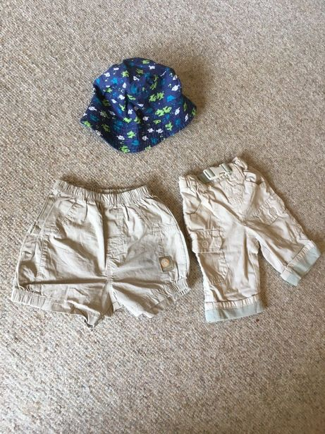 ubranie Spodenki spodnie markowe 56 r. na lato niemowlęce chłopięce