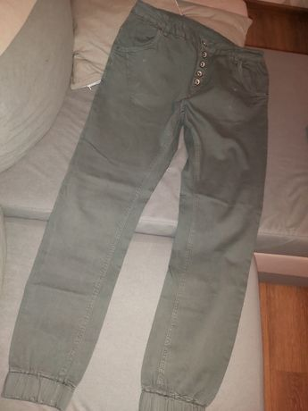 Spodnie damskie dżinsy