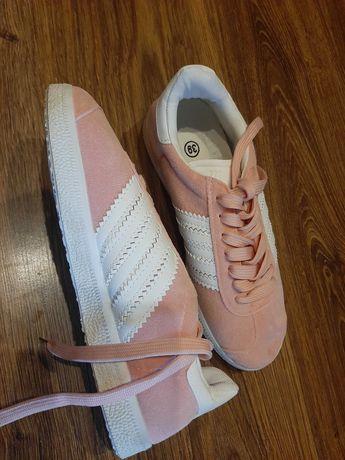 Różowe buty trampki 39 NOWE