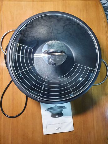 Электрическая сковородка Wok TCM Teflon