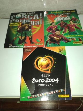 Cadernetas Panini Portugal - 2002 a 2004