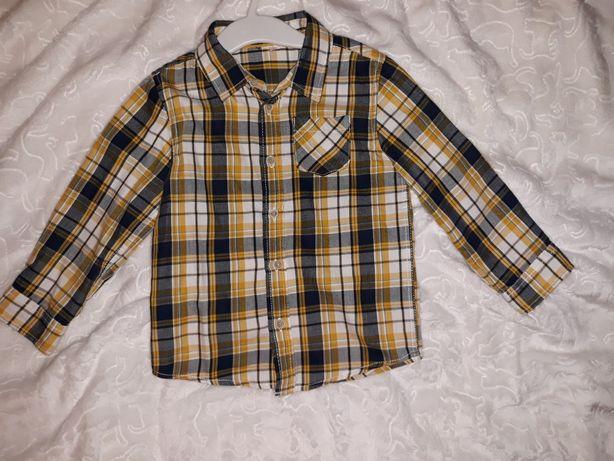 Koszula chłopięca 92 reserved jak nowa sesja swieta