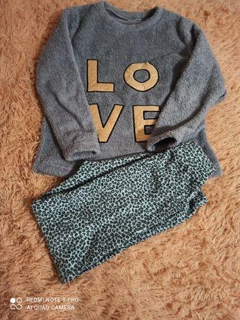 Теплые плюшевые пижамы