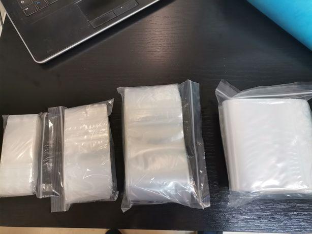 Sacos com Fecho Zip 100x Diversos tamanhos