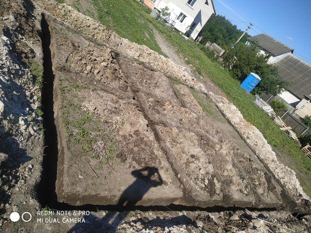 Земляные работы, копка траншей ям колодцев