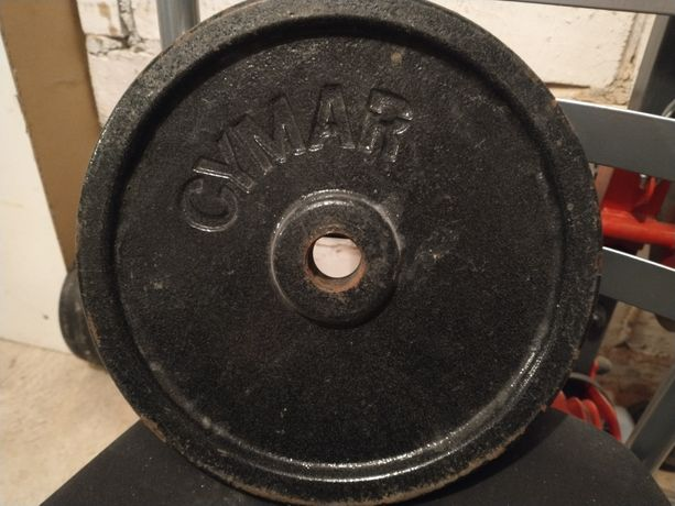 Obciążenie żeliwne 2 x 10kg